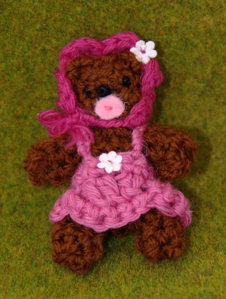 Osita amigurumi | Miniatura tejida, amigurumi, crochet, ganc ...