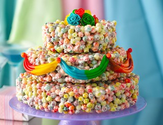 Cereal Wedding Cake Recipe | by Betty Crocker Recipes