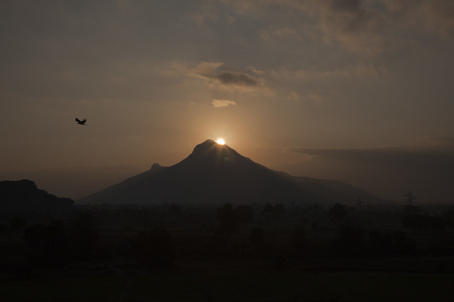 Sunrise in Arunachala.jpg