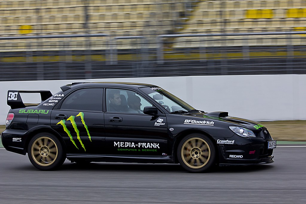 Subaru Impreza Wrx Sti Monster Energy Like Ken Block Flickr