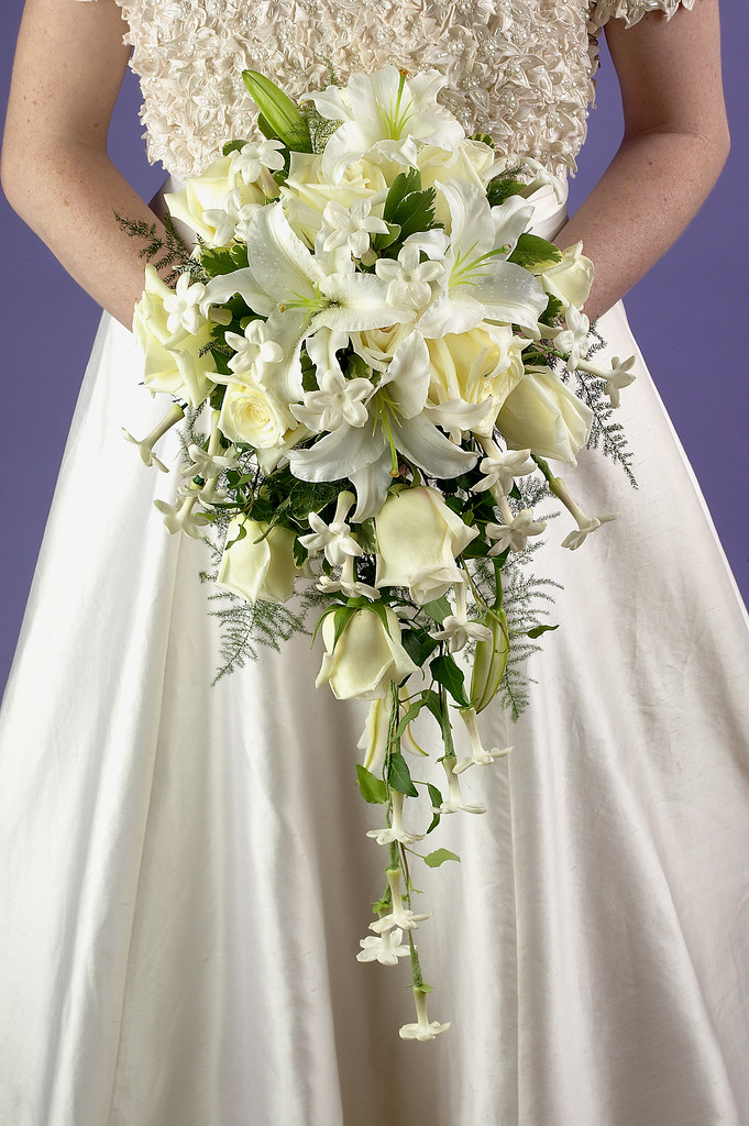 wedding bride flowers