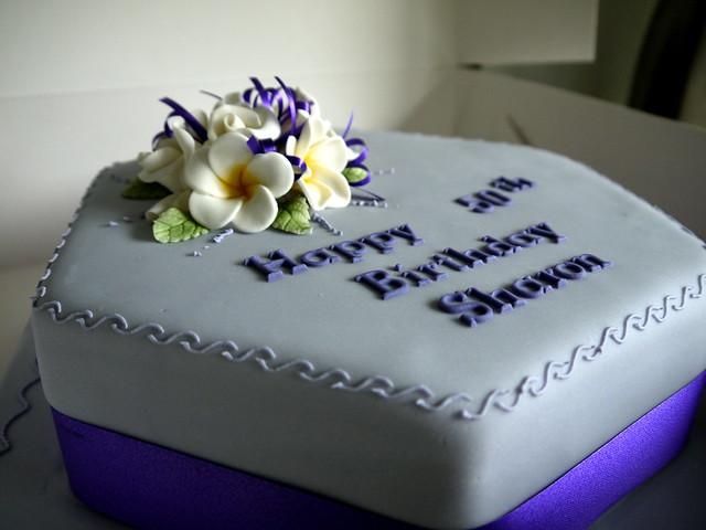 Sharon Birthday Cake