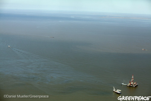 March 2011 Sheen On The Gulf Surface | by Greenpeace USA 2015