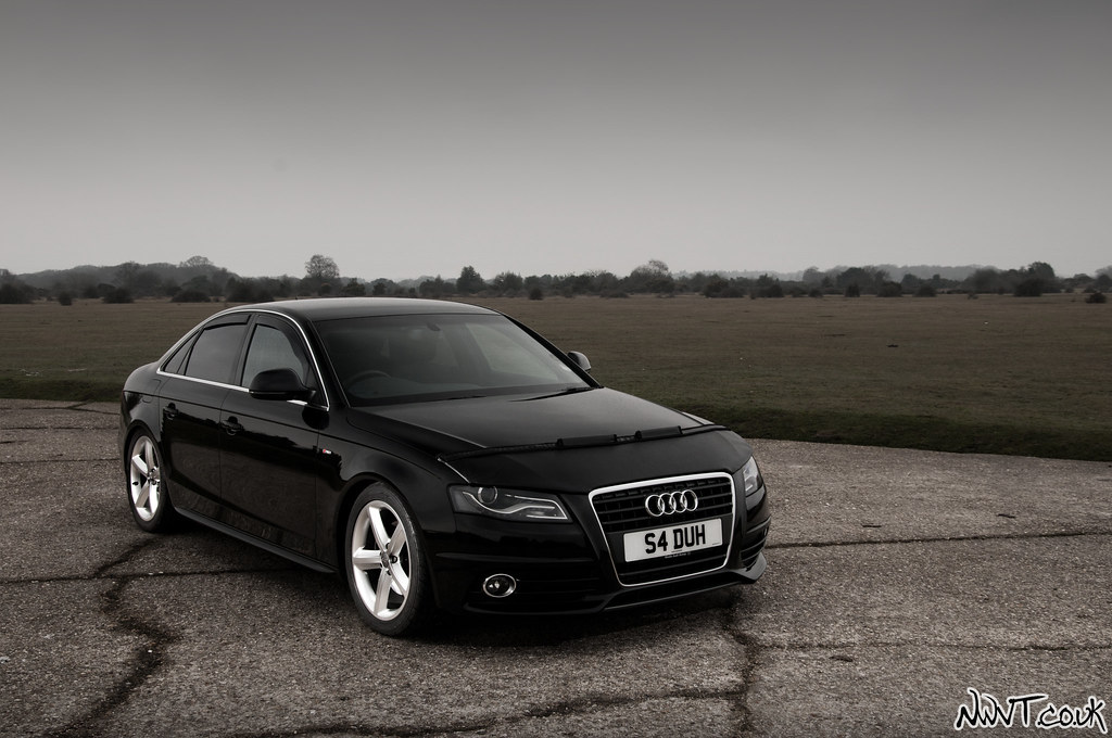 Black audi a4 s line black audi a4 s line lowered on a for S line exterieurpaket a4