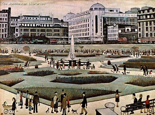Piccadilly gardens lowry 1930 flickr photo sharing for Gardening jobs manchester