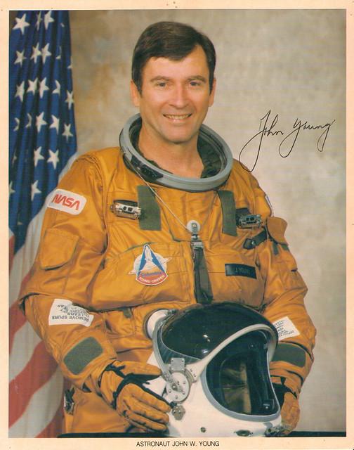 NASA Astronaut John Young STS-1 | Flickr - Photo Sharing!