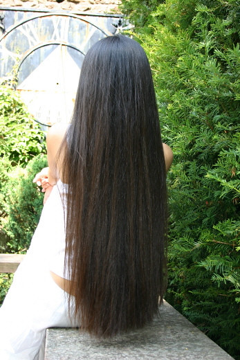 how to grow long silky hair
