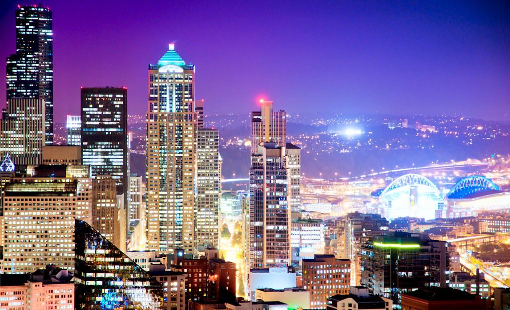 Big City Lights | Seattle, USA | Shoeven | Flickr