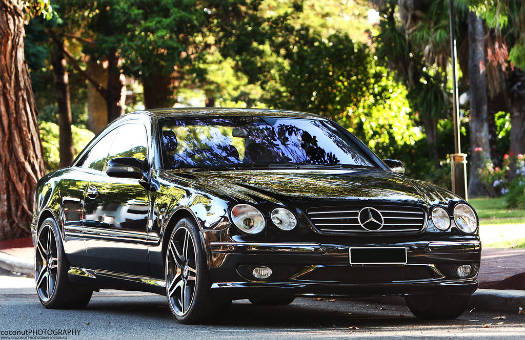 mercedes benz cl55 amg very rare car to see looks great w flickr. Black Bedroom Furniture Sets. Home Design Ideas