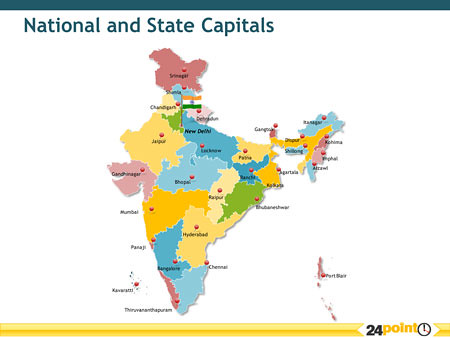 Map of india national and state capitals of india find mo flickr gumiabroncs Image collections