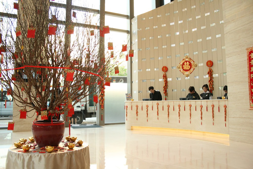 Chinese New Year Decorations at Cosmo Kowloon Hotel | Flickr