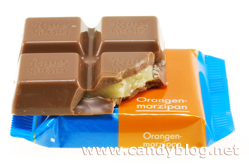 Ritter Sport Orange Marzipan | by cybele-