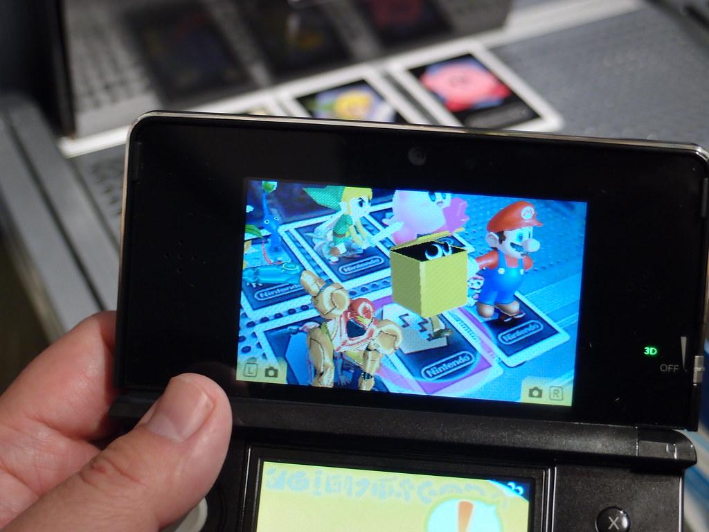 Nintendo 3ds Ar Games Digitalbear Flickr