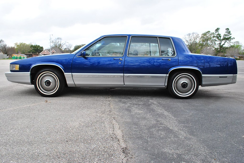 1990 Cadillac Sedan Deville For Sale Houston Streets