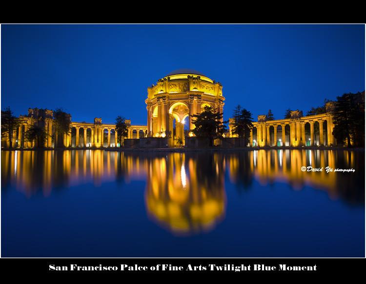 san francisco palce of fine arts twilight blue moment flickr. Black Bedroom Furniture Sets. Home Design Ideas