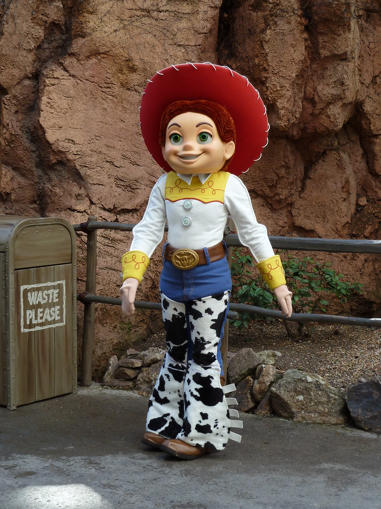 Disneyland Jessie Toy Story Minnemom Flickr