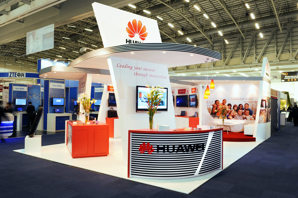 Exhibition Stand Builders Cape Town : Huawei stand africacom cape town set squared