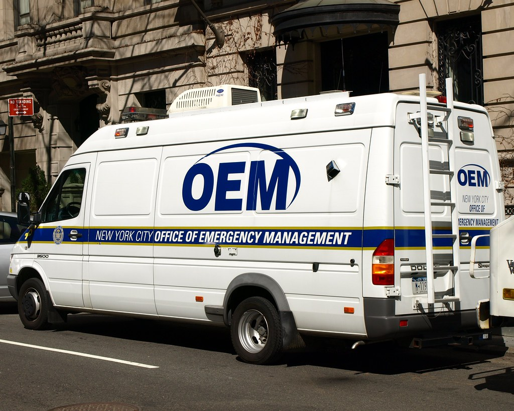 OEM NYC Office of Emergency Management Van, Upper East Sid… | Flickr