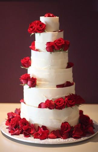 White chocolate wrap cake | by Louisa Morris Cakes