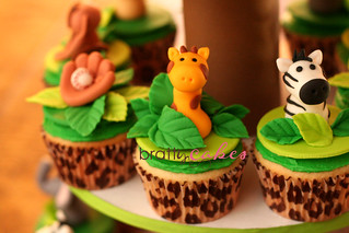 Jungle/Sports Cupcakes | by Natty-Cakes (Natalie)