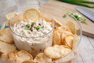 Roasted Onion and Bacon Dip | by Tracey's Culinary Adventures