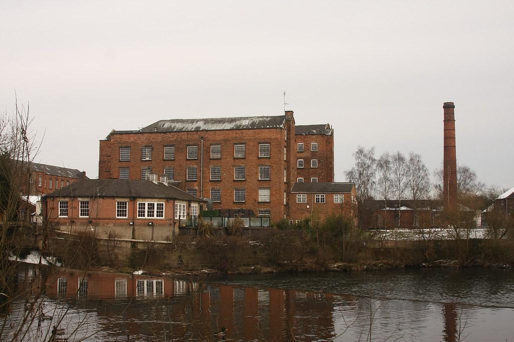 Uk Derwent Valley Mills Darley Abbey Mills Derwent
