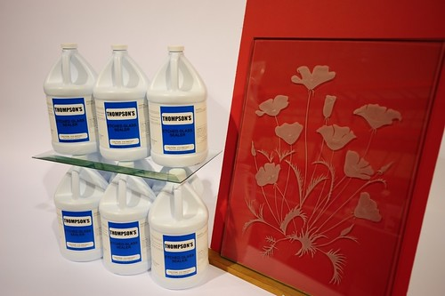Thompson's Etched Glass Sealer | by Frederick Art Glass