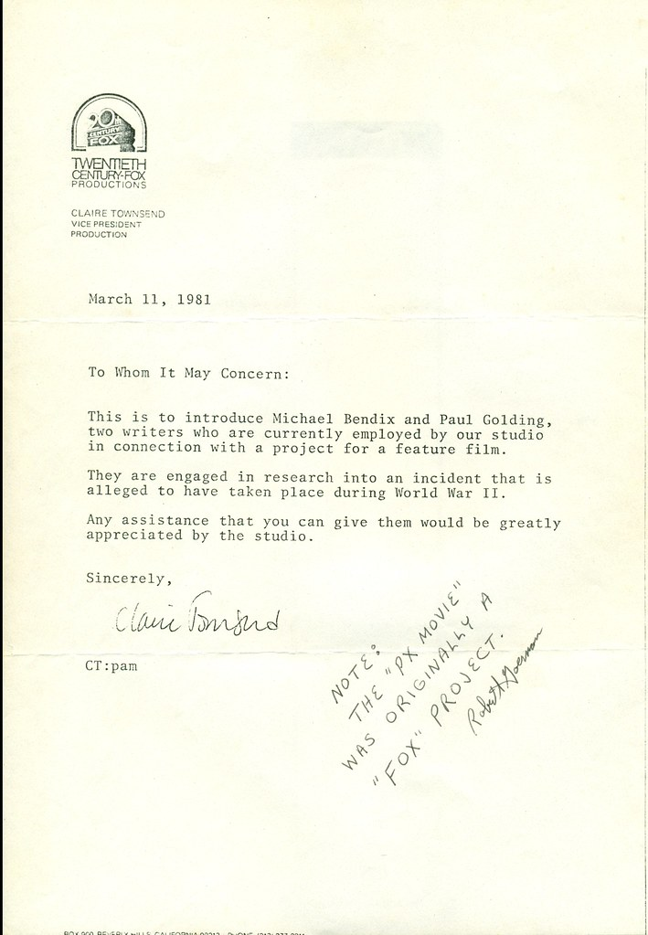 march 11 1981 cover letter introducing writers michael be flickr