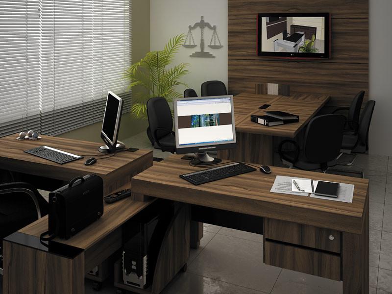 Mesa escritorio projeto k mobili rio corporativo flickr for Mobiliario 2 mao