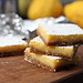 lemon bars (gingersnap)