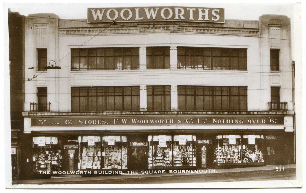 F W Woolworth Amp Co Ltd 18 20 Commercial Road The Squa