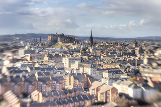 Edinburgh with a lensbaby | by Grant_R