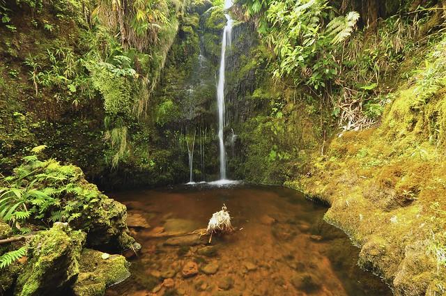 Waterfall Big Island Of Hwaii