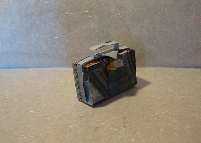 origami geld koffer flickr photo sharing