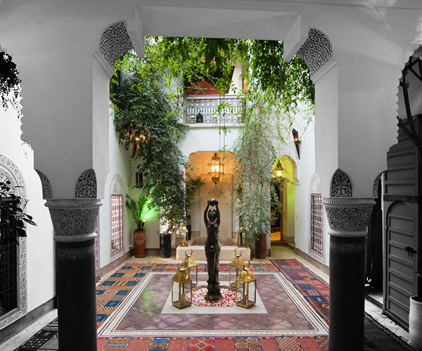 Authentic moroccan riad marrakech dar eliane authentic for Best riads in marrakesh