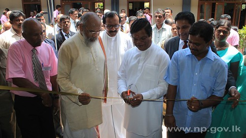 Opening Ceremony of New Buildings of Puttur Somaskanda College – 24 April 2014