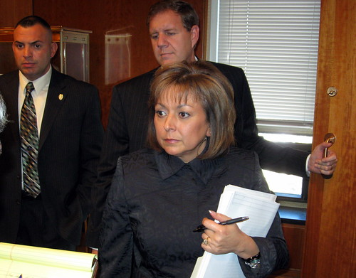 Gov. Susana Martinez & Chief of Staff Keith Gardner | by Robotclaw666