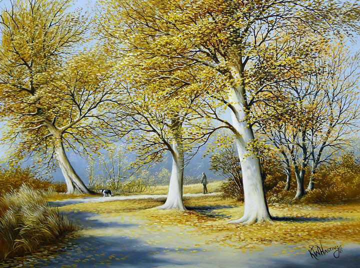 Keith Hastings Oil Painting