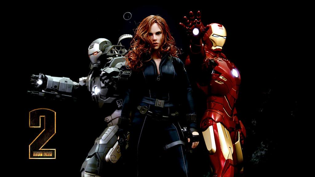 Iron Man 2 Wallpaper HD | Iron Man 2: 1/6th Collectibles ...