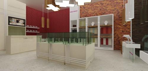 Muebles para Joyeria. Diseño de Espacio. Diseño de lampara…  Flickr