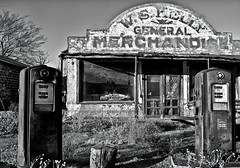 Old Gas Station, Western Oklahoma