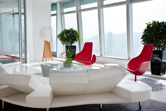 Ultra Modern Office - Reception | Flickr - Photo Sharing!