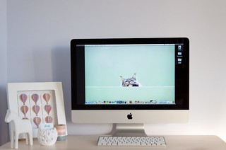 Apple iMac Desktop Workspace | by Eloise Claire