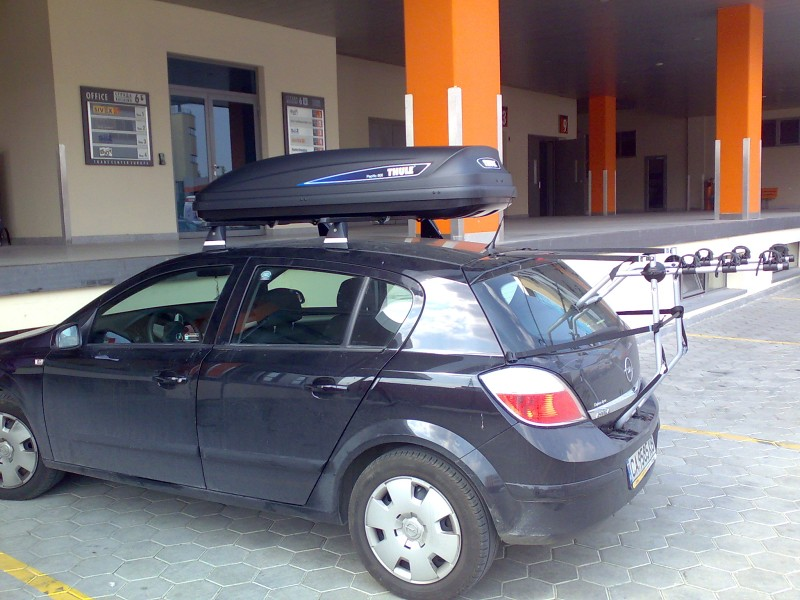 thule pacific 600 black opel astra opel. Black Bedroom Furniture Sets. Home Design Ideas