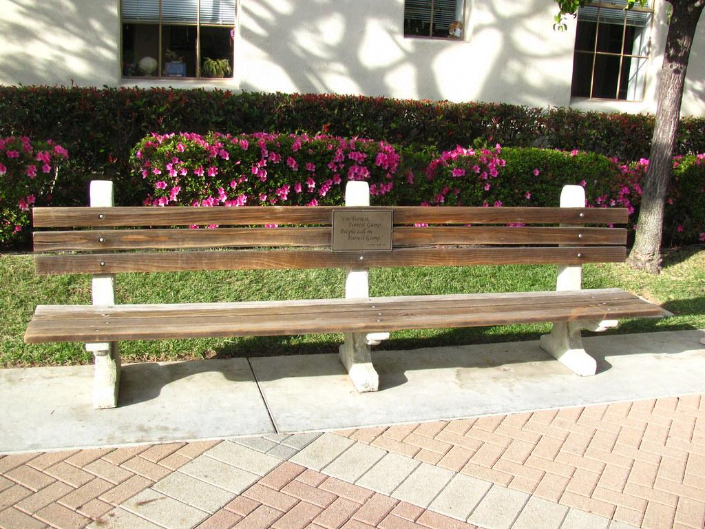 The Forrest Gump Bench At Paramount Studios Loren Javier