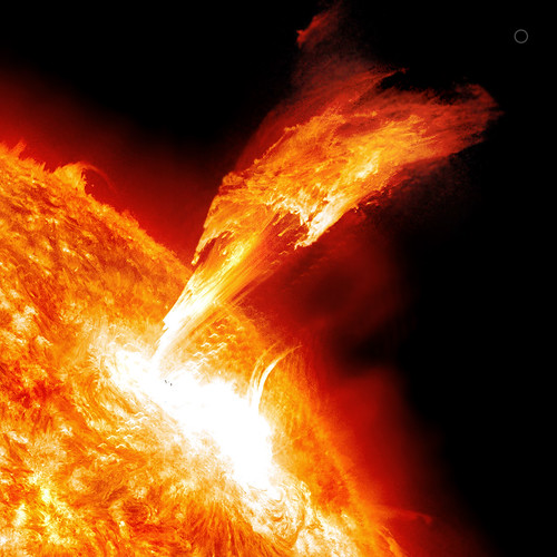 Solar Flare (SDO AIA 304) 3-7-11 | by Lights In The Dark
