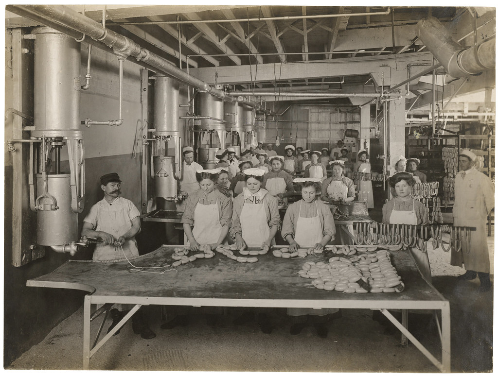 the depiction of the deplorable conditions in meat packing plants in upton sinclairs the jungle