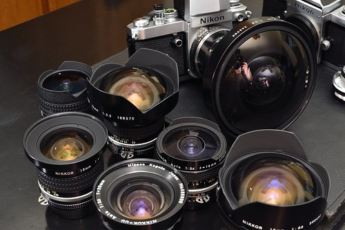 The whole short  nikon nikkor family 8mm 15mm 16mm 18mm 20mm | by Rafael CA