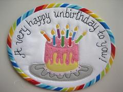 Happy Unbirthday Mug Rug by mamacjt