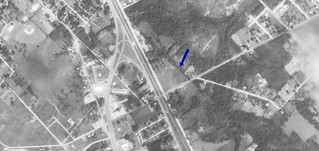 Waycross Drive-In aerial photo 1961 | by OzonerGPS